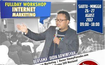Full Workshop Internet Marketing Google Dominasi