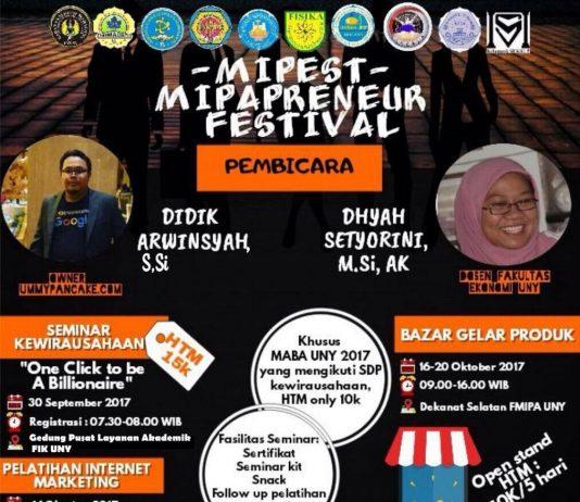 Info Seminar Mahasiswa 2017 di Jogja