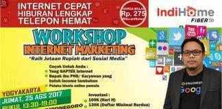 Workshop Raih Jutaan Rupiah Dengan Sosial Media