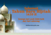 Tahun Baru Islam 1 Muharram 1439 H Momentum Mewujudkan Perubahan