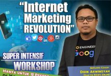 Workshop Internet Marketing Super Intensif Jogja