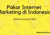 Pakar Internet Marketing di Indonesia