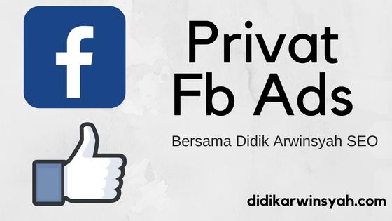 Privat Fb Ads di Jogja