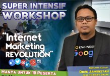 Kursus Pelatihan Internet Marketing di Jogja Desember 2017
