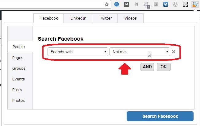 Cara Mencari Teman Tertarget Di Facebook