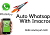 Script iMacros WhatsApp Bot With Upload Picture or Video