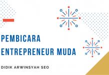 Pembicara Entrepreneur muda