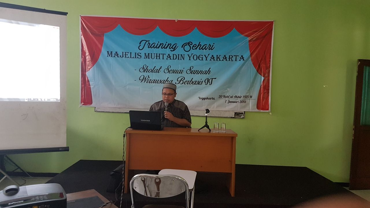 Pelatihan Internet Marketing di Gedung Muallaf Center Seturan Jogja