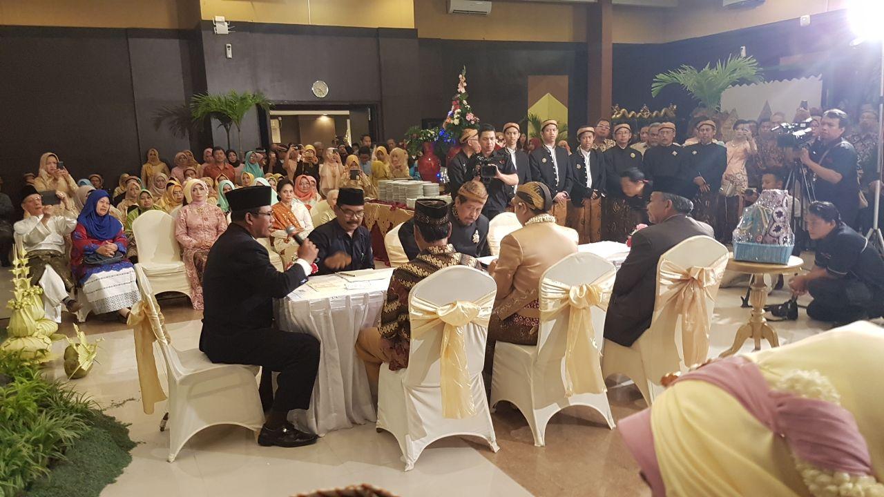 Ngisi Qori Tilawah di Pernikahan Mba Ima di Gedung UC UGM Jogja