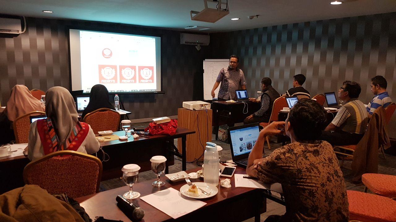 Workshop Youtube Marketing Dominasi Solo Februari 2018