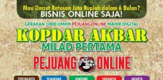 Seminar Akbar Bersama Pejuang Online