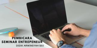 PEmbicara seminar entrepreneur