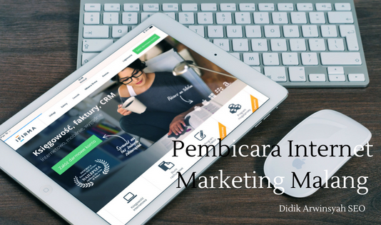 Pembicara Internet Marketing Malang