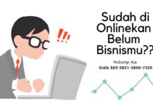 Privat Bisnis Online Jogja