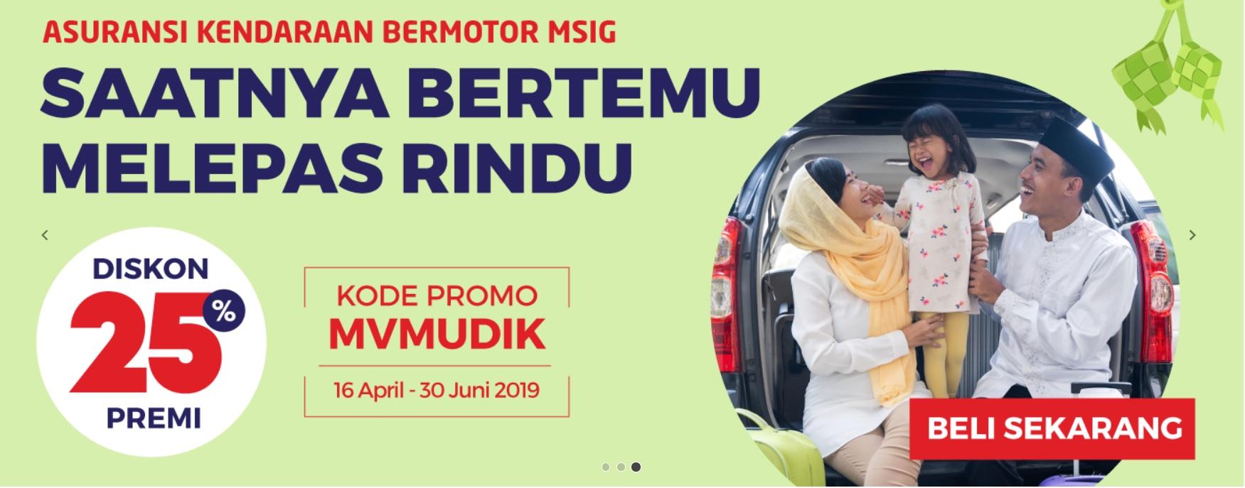 Asuransi Kendaraan MSIG, Berkendara Tanpa Cemas