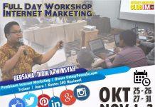 Fullday Workshop Internet Marketing Oktober November 2017