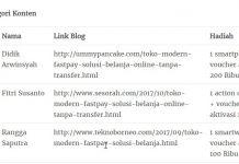 Juara 1 Lomba Blog Kategori Konten di TokoFastpay.co.id