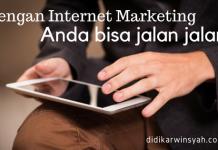 Dengan Internet Marketing Bisa ke Bangka Belitung Ngisi Pelatihan