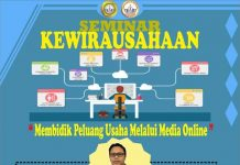 Seminar Mahasiswa Membidik Peluang Usaha Dengan Media Online