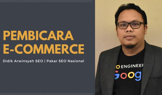 Pembicara E-commerce Terbaik di Indonesia
