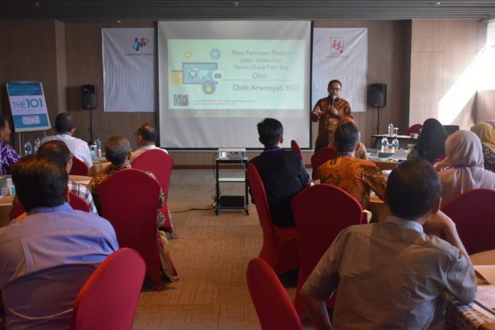 Pelatihan Digital Marketing Persiapan Hari Tua di Hotel 1O1 Jogja